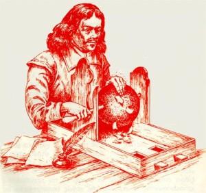 Το πείραμα του Γκέρικε με τη μπάλα από θειάφι.