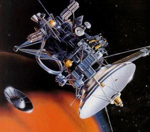 Σχεδιάγραμμα του δορυφόρου ΚΑΣΣΙΝ