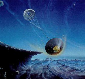 Διερευνητική βολίδα κατέρχεται στη  ατμόσφαιρα του Ποσειδώνα