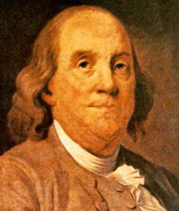 Benjamin Franklin (1706 - 1790)