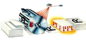 Τα στάδια που ακολουθούνται σε ένα εκτυπωτή laser