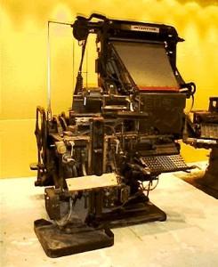 Λινοτυπική μηχανή