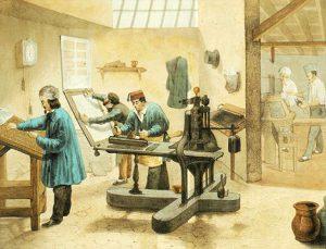 Η εξάπλωση της τυπογραφίας στην Ευρώπη