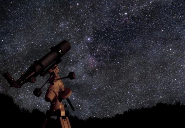 Foto teleskop optik terbesar di dunia noesis